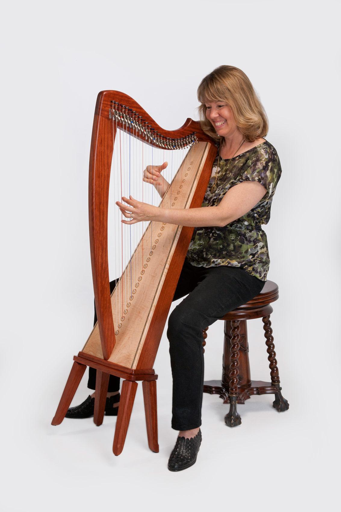Triplett Shanti 28 String Harp